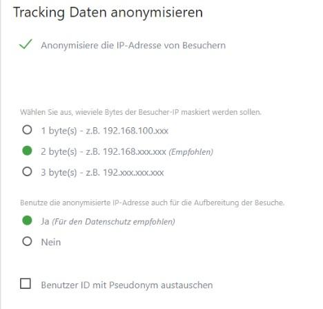 Matomo-IP-Anonymisierung